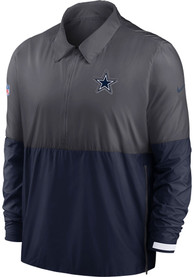 Dallas Cowboys Nike Coach Pullover Jackets - Grey