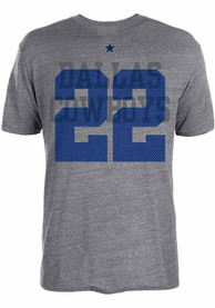 Emmitt Smith Dallas Cowboys Dallas Cowboys Apparel Maynard T-Shirt - Grey