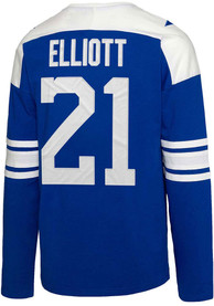 Ezekiel Elliott Dallas Cowboys Dallas Cowboys Apparel Rivalry Fashion Sweatshirt - Blue