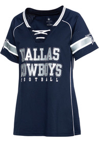 Dallas Cowboys Womens Avery Fashion Football - Navy Blue