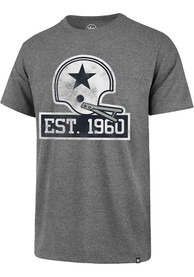 Dallas Cowboys 47 60th Anniversary Imprint Club T Shirt - Grey