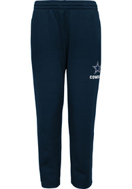 Dallas Cowboys Youth Essential Poly Track Pants - Navy Blue