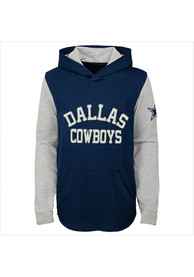 Dallas Cowboys Youth Navy Blue The Legend Hooded Sweatshirt