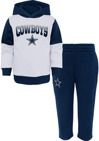 DAL Cowboys Tod Navy Sideline Top and Bottom Set