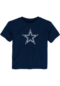 Dallas Cowboys Toddler Primary Logo T-Shirt - Navy Blue