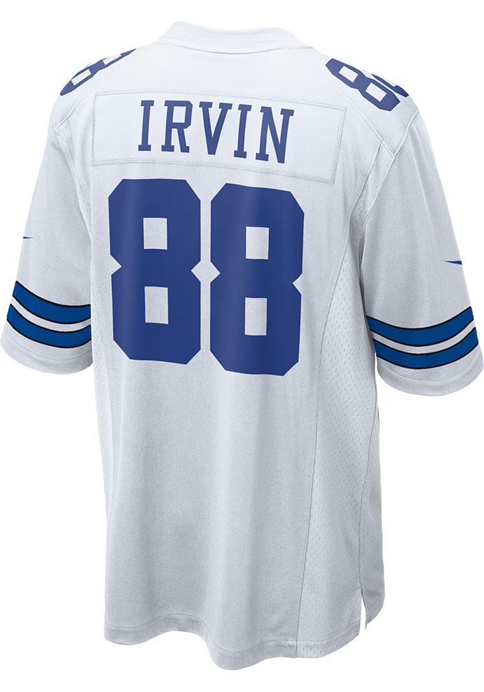 Michael Irvin Nike Dallas Cowboys White Home Game Football Jersey - 41023255