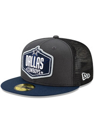 Dallas Cowboys 2021 NFL Draft 59FIFTY Fitted Hat - Grey