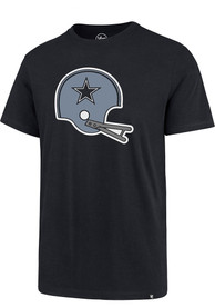Dallas Cowboys 47 Throwback Imprint Super Rival T Shirt - Navy Blue