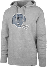 Dallas Cowboys 47 Throwback Headline Hooded Sweatshirt - Grey
