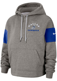 Nike Dallas Cowboys Womens Grey Historic Hoodie