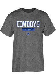 Emmitt Smith Dallas Cowboys Dallas Cowboys Apparel Akron T-Shirt - Grey
