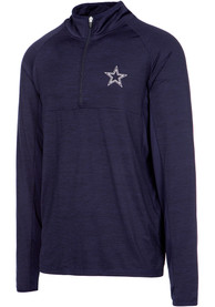 Dallas Cowboys Neptune 1/4 Zip Pullover - Navy Blue