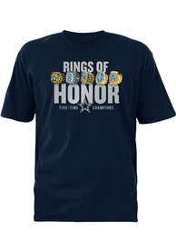 cheap for discount 33a47 be4e4 Dallas Cowboys Navy Blue Rings of Honor Tee