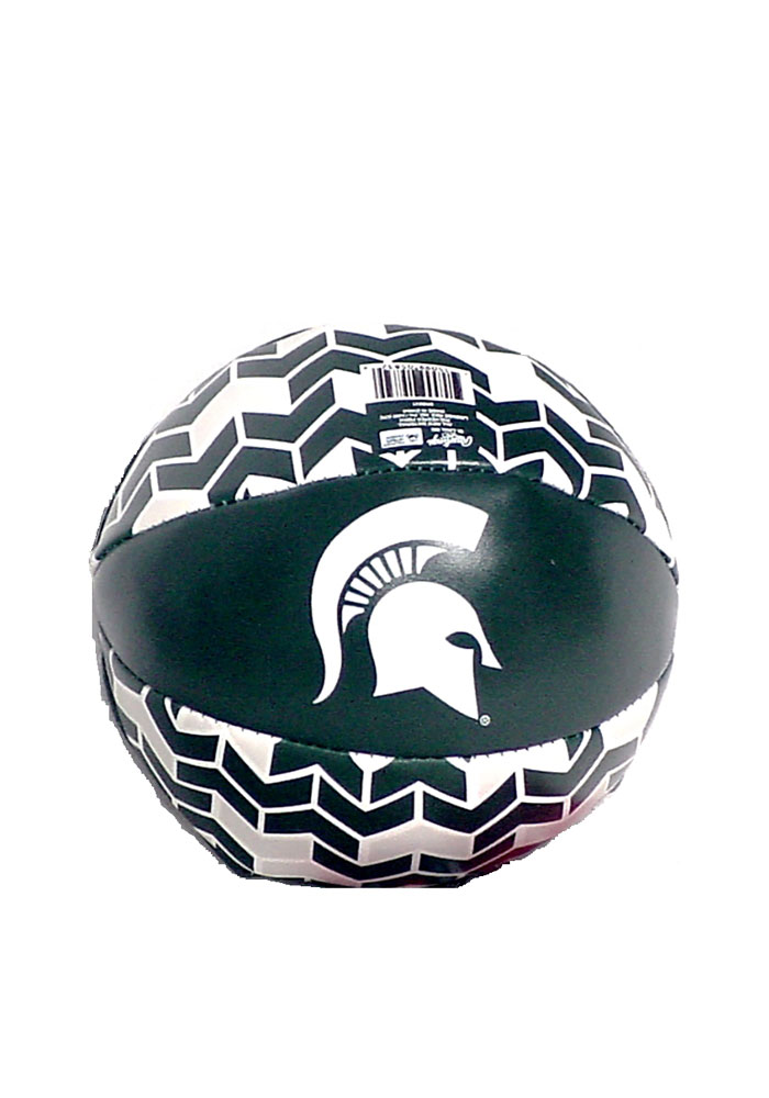 Michigan State Spartans 4` Basketball Softee Ball - Image 1