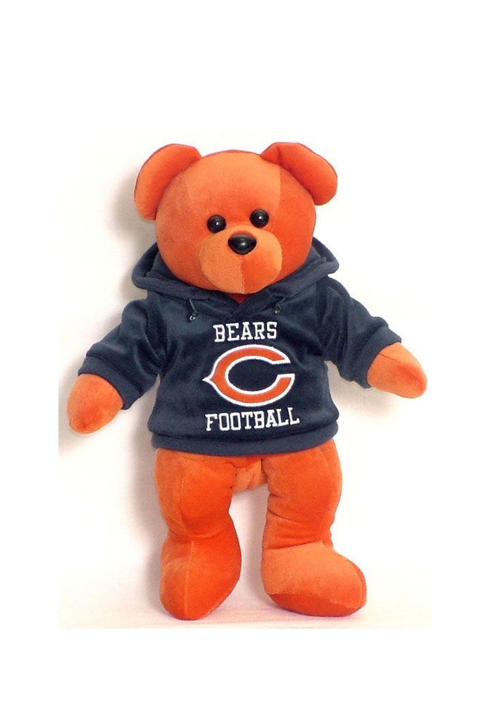 Chicago Bears 14 Inch Team Color Hoodie Plush - Image 1