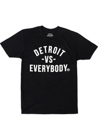 Detroit Vs Everybody Classic Short Sleeve T-Shirt - Black