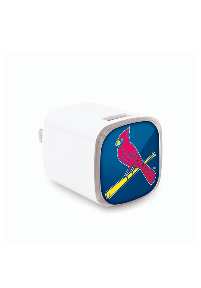 St Louis Cardinals Big Logo Wall Phone Charger - Image 1