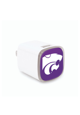 K-State Wildcats Big Logo Wall Phone Charger