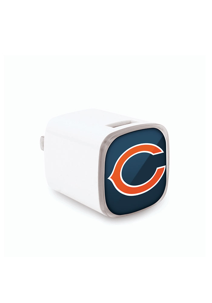 Chicago Bears Big Logo Wall Phone Charger - Image 1