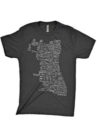 Chitown Clothing Chicago Grey Short Sleeve T Shirt