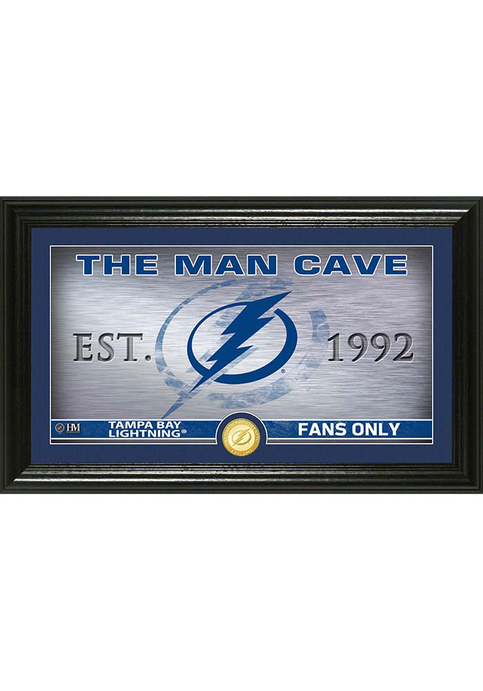 Tampa Bay Lightning 12x20 Man Cave Plaque - Image 1