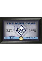 Tampa Bay Rays 12x20 Man Cave Plaque