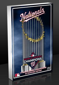 Washington Nationals 2019 World Series Champions Block Wall Art