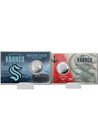 Seattle Kraken Inaugural Season Collectible Coin