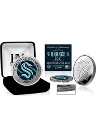 Seattle Kraken Inaugural Season Silver Mint Collectible Coin