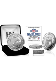 Cleveland Browns Silver Mint Game Flip Collectible Coin