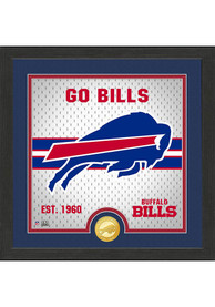 Buffalo Bills Battle Cry Bronze Photo Mint Plaque