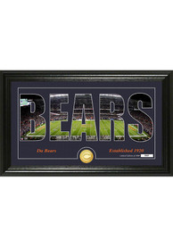 Chicago Bears 12x20 Silhouette Plaque