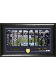 Los Angeles Chargers 12x20 Silhouette Plaque