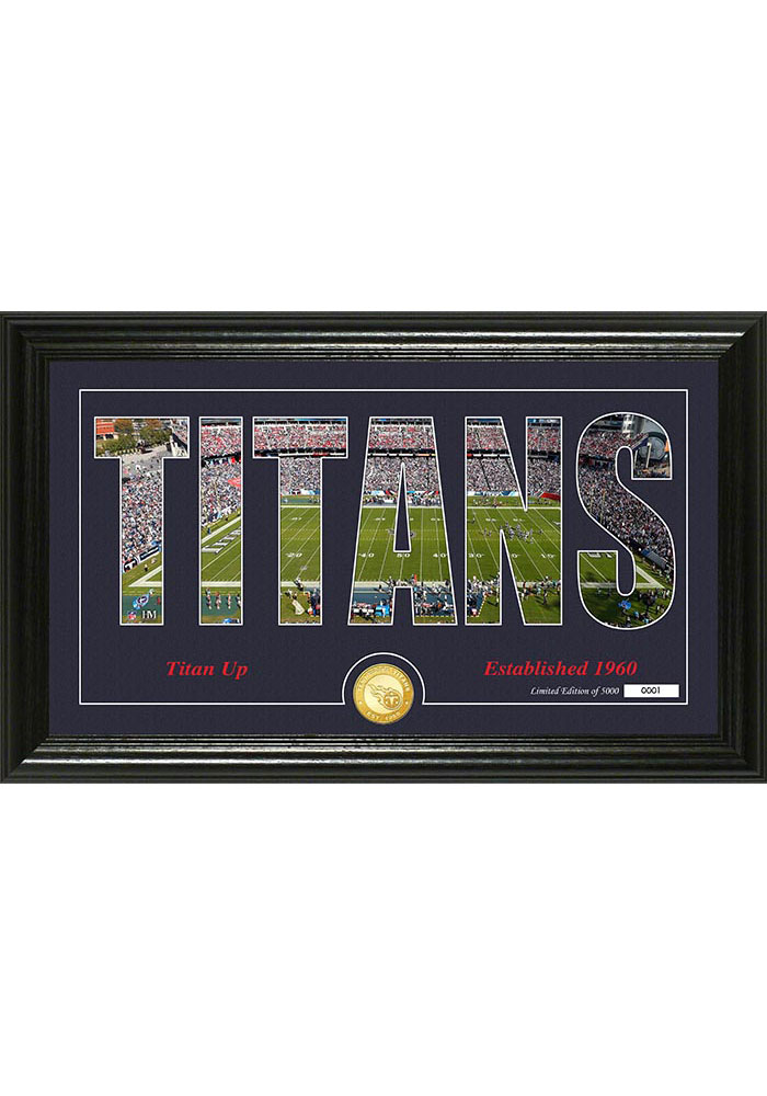 Tennessee Titans 12x20 Silhouette Plaque - Image 1