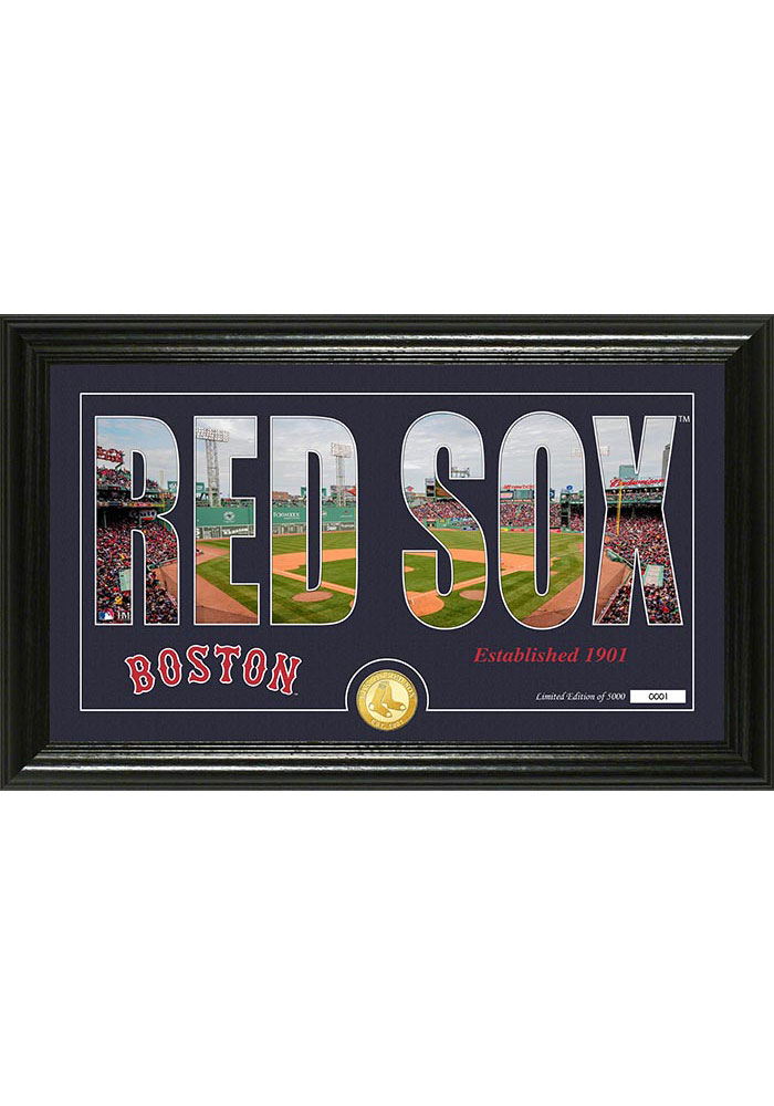 Boston Red Sox 12x20 Silhouette Plaque - Image 1