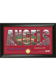 Los Angeles Angels 12x20 Silhouette Plaque