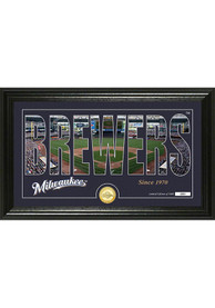 Milwaukee Brewers 12x20 Silhouette Plaque