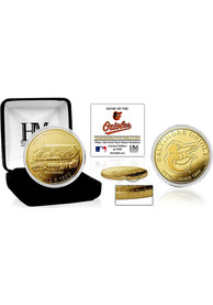 Baltimore Orioles Stadium Gold Collectible Coin