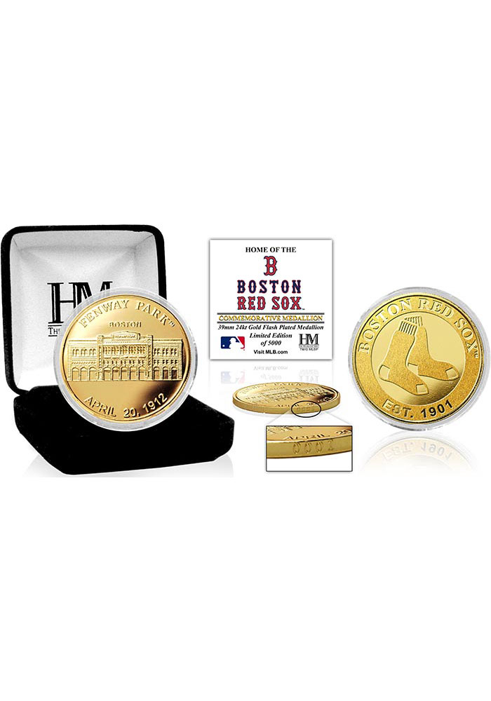 Boston Red Sox Stadium Gold Collectible Coin - Image 1