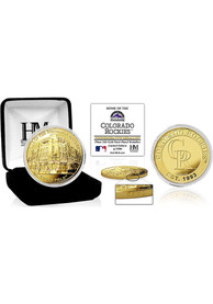 Colorado Rockies Stadium Gold Collectible Coin