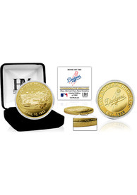 Los Angeles Dodgers Stadium Gold Collectible Coin