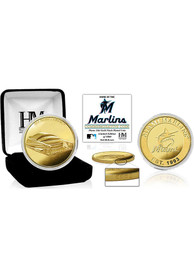Miami Marlins Stadium Gold Collectible Coin