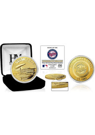 Minnesota Twins Stadium Gold Collectible Coin