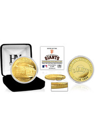 San Francisco Giants Stadium Gold Collectible Coin