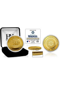 Seattle Mariners Stadium Gold Collectible Coin