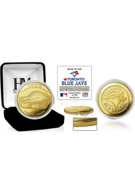 Toronto Blue Jays Stadium Gold Collectible Coin
