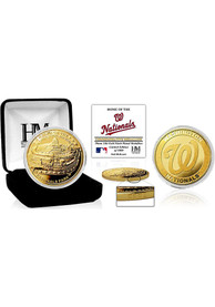 Washington Nationals Stadium Gold Collectible Coin