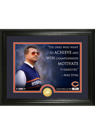 Chicago Bears Mike Ditka Quote Bronze Coin Photo Mint Plaque