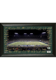 Green Bay Packers 2020 Signature Gridiron Framed Posters