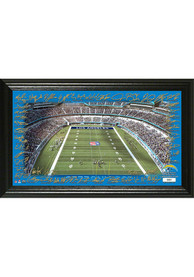 Los Angeles Chargers 2020 Signature Gridiron Framed Posters